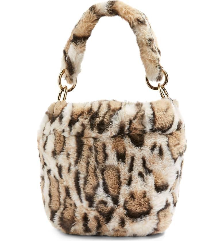 b140f5b41ab9 Topshop Teddy Faux Fur Bucket Bag | Best Gifts by Zodiac Sign ...