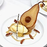 William Pear Belle Helene With Vanilla Bean Ice Cream