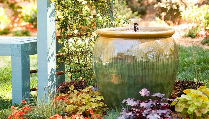 14. Garden Fountain