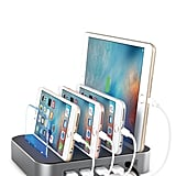For Your Tech-Obsessed Pal Who Always Loses Her Chargers: Multidevice Charging Station