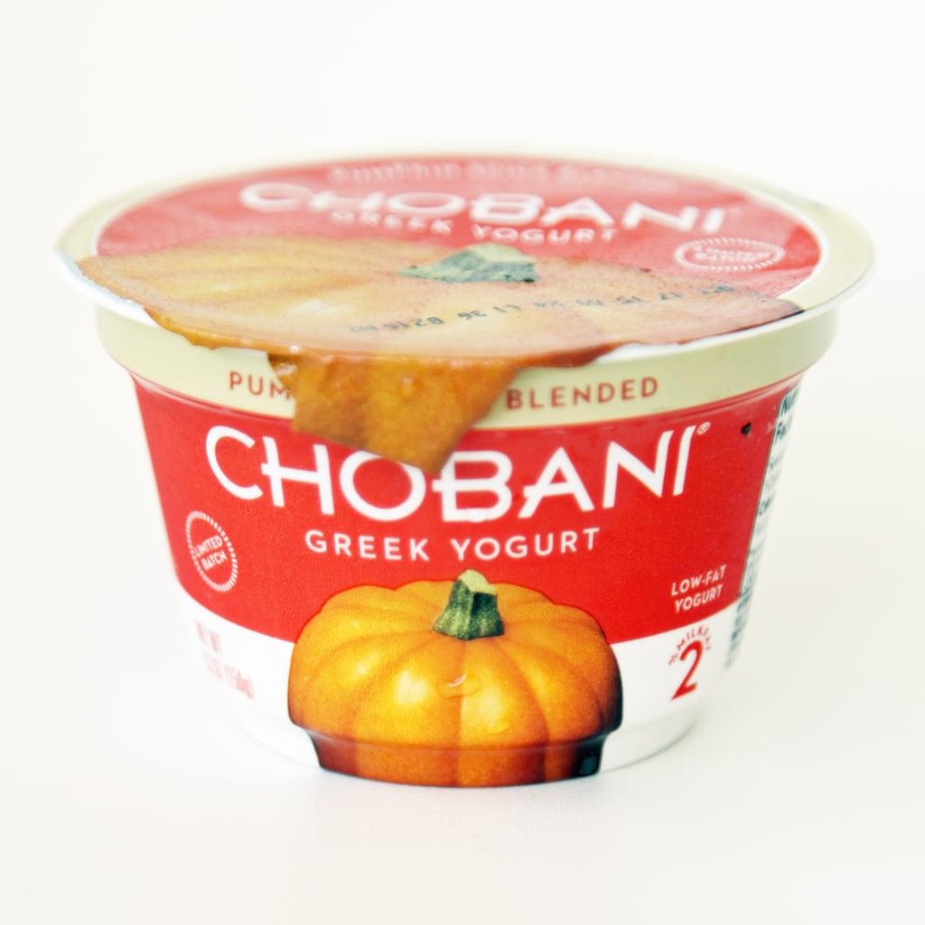 Chobani Pumpkin Spice Greek Yogurt ($1)