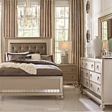 Sofia Vergara Paris Champagne 5 Pc Queen Bedroom ($1,199)