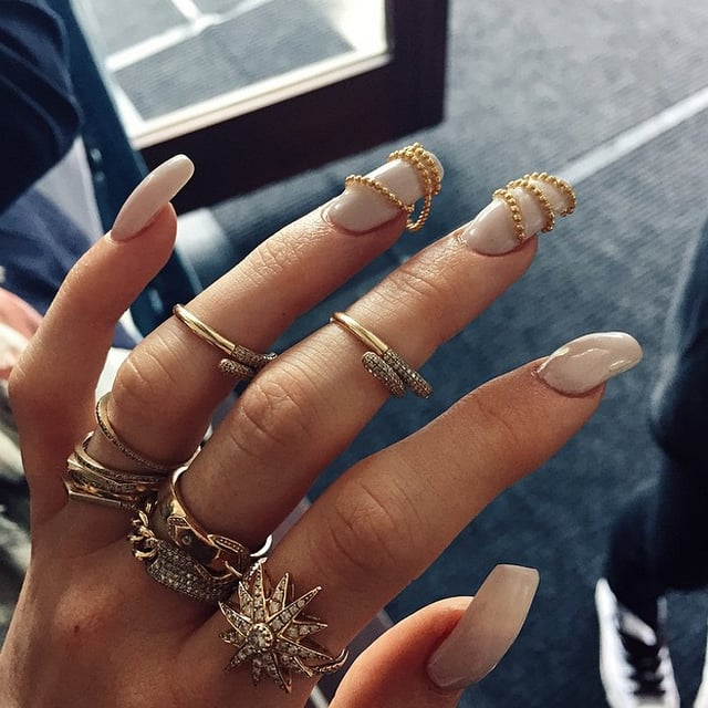 Kardashian Nail Art | POPSUGAR Beauty