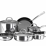 Farberware Stainless Steel 10-pc Cookware Set