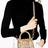Topshop Marley Snake Print Mini Bag