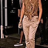 Head-to-toe Gucci was Rihanna's ensemble of choice while strolling around NYC in 2009.