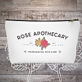 Rose Apothecary Makeup Bag