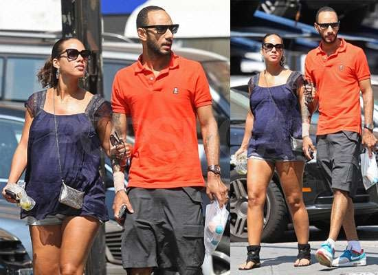 Pictures of Pregnant Alicia Keys With Swizz Beatz