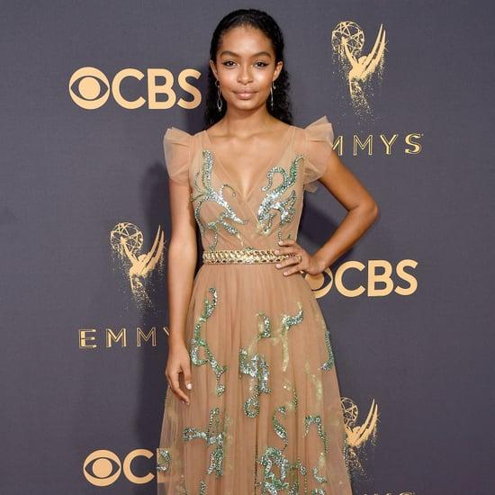 Yara Shahidi Prada Dress Emmys 2017