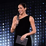 Meghan Markle's Dark Nail Polish at the 2018 Fashion Awards
