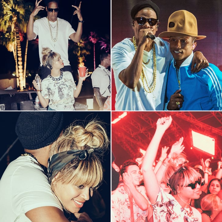 Beyoncé and Jay Z Show Us How to Party at Coachella