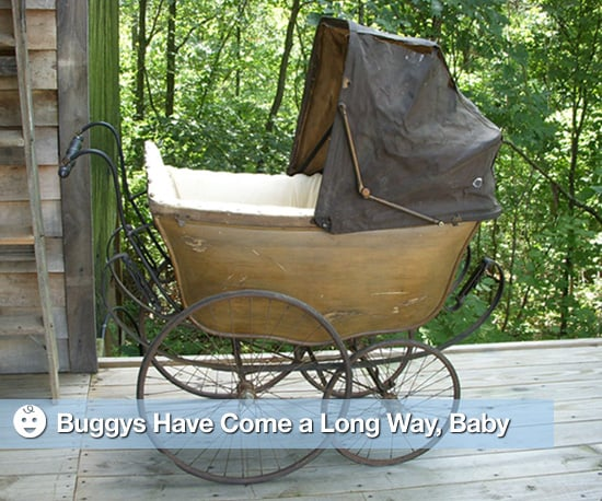 Pictures of Vintage Strollers