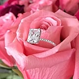 Etsy Radiant Cut Solitaire Ring