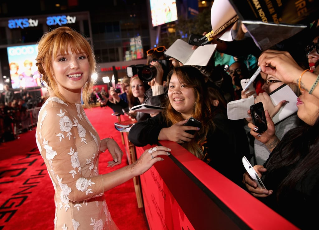 Bella Thorne made time for her fans.