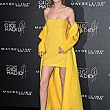 Gigi Hadid Yellow Ralph Lauren Dress