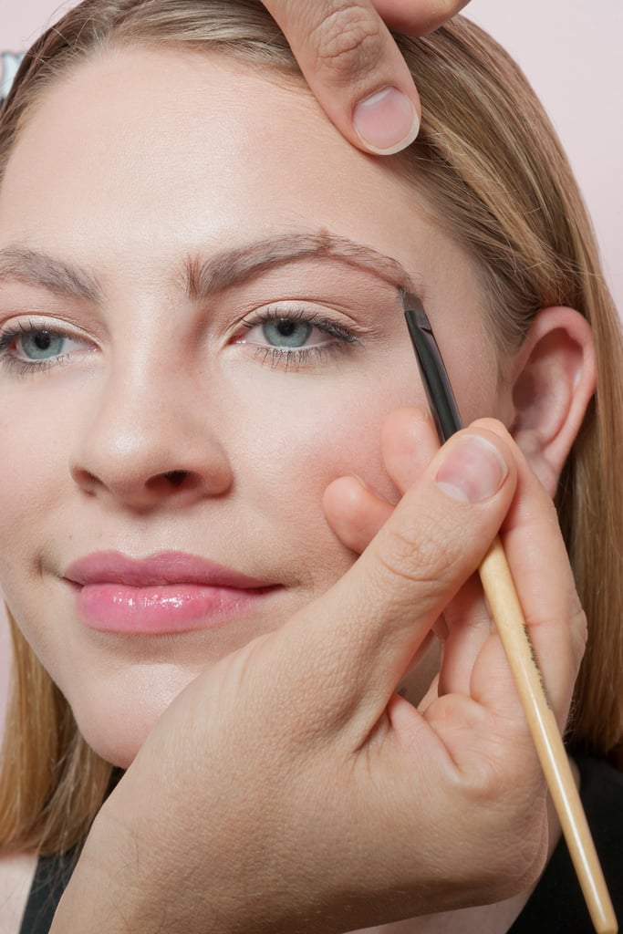 Customize your brow shape before waxing