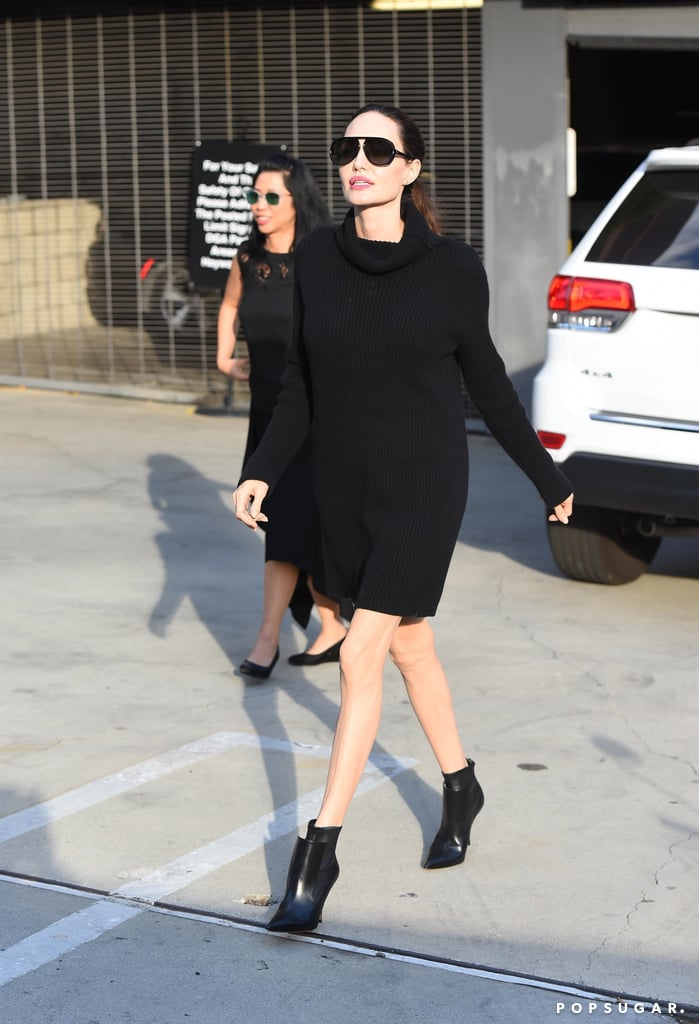 Black Sweater Dress Style