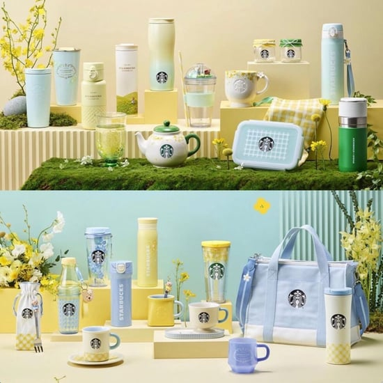 Check Out Starbucks Korea's Spring 2021 Collection Now