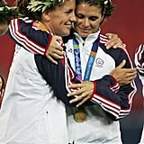 The US Women's Soccer Team Wins Its Second Gold Medal at the 2004 Summer Olympics