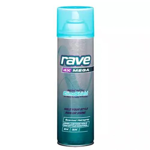 Rave Mega Aerosol Hair Spray