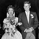 Their send-off was extra special. After the reception was over, guests tossed rose-petal confetti and rice at Jackie and John as they set off for their honeymoon in Acapulco, Mexico.
