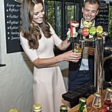 Kate Middleton and Prince William Drinking September 2016