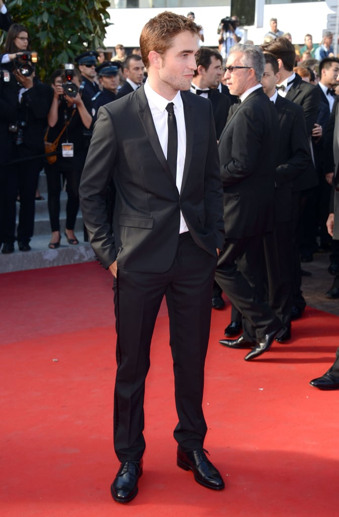 Robert Pattinson looked dapper in a suit at the On the Road premiere at the Cannes Film Festival.