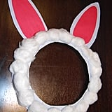 Voila! Bunny ears are ready.