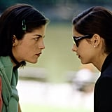Selma Blair's mom ragged on her for that kissing scene.