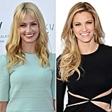 Beth Behrs and Erin Andrews