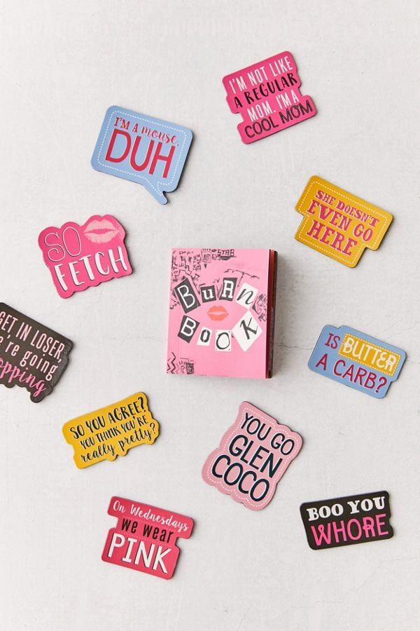 Mean Girls Mini Burn Book + Magnet Set