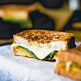 Gluten-Free Grilled Cheese Hummus Sandwich With Pumpkin