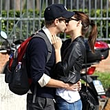 Olivia Wilde and Jason Sudeikis could hardly keep their hands off each other while sightseeing in Rome in October.