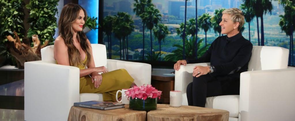 Chrissy Teigen Admits That She's Been Opening Rihanna's Fan Mail