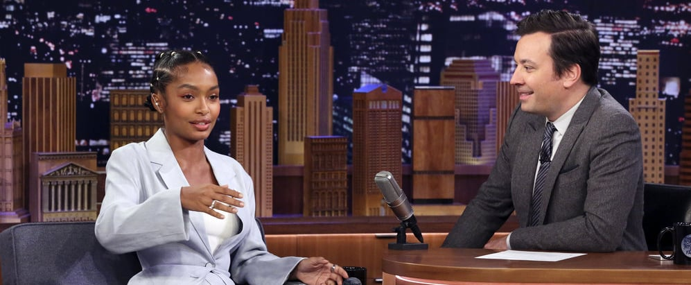 Yara Shahidi Reveals Her Family's Pranks on The Tonight Show