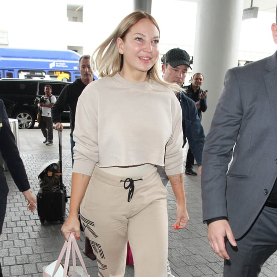 Sia Without Her Wig at LAX March 2017