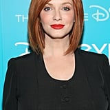 No list of redheads would be complete without Christina Hendricks of Mad Men. Her fair skin glows next to her copper hair colour, and when paired with a red lip, it's sheer perfection.