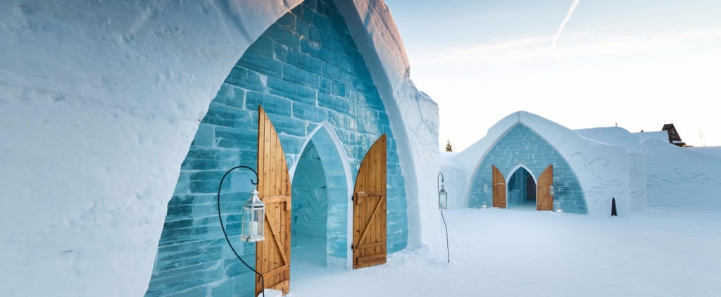 Get Cozy in These 7 Real-Life Ice and Igloo Resorts