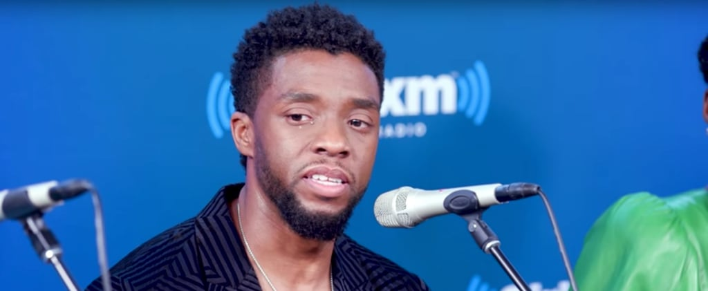 Chadwick Boseman Crying Discussing Impact of Black Panther