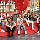 One Direction Performing on Today in 2013