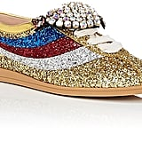 Think of these Gucci Falacer Glitter Sneakers ($1,100) as the party shoes you don't have to save for parties.