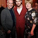 Marc E. Platt, Ben Platt, and Julie Beren at The Politician Premiere