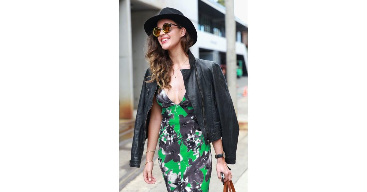 Australian Fashion Week Beauty Street Style 2014 Street Style Pictures Of Beauty Looks At 2014