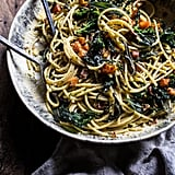 Winter Squash Carbonara with Broccoli Rabe and Sage