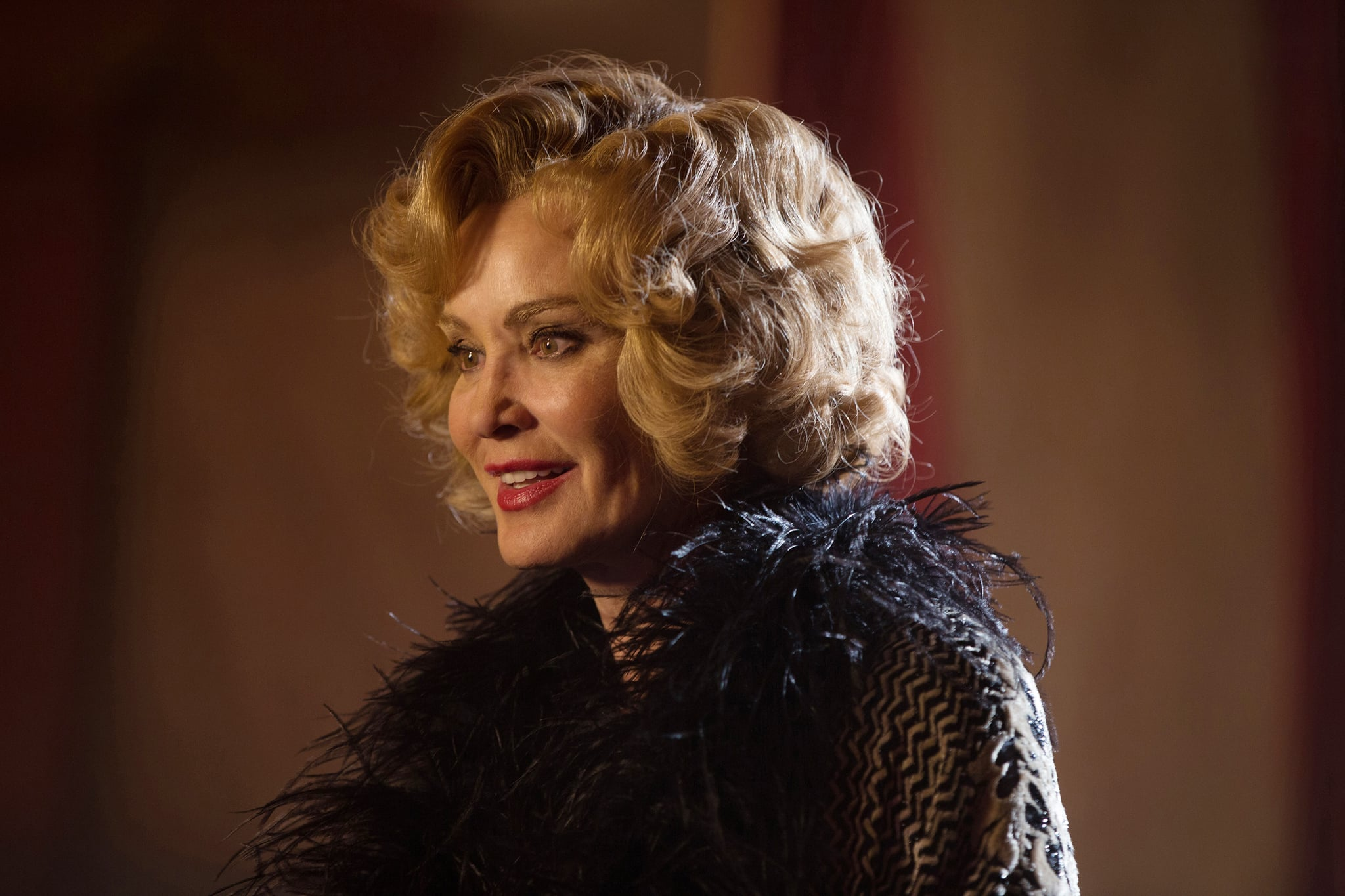 AMERICAN HORROR STORY: FREAK SHOW, Jessica Lange in 'Curtain Call' (Season 4, Episode 13, aired January 21, 2015). ph: Sam Lothridge/FX/courtesy Everett Collection
