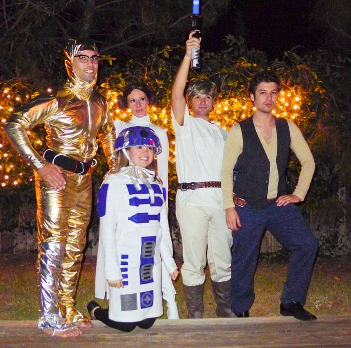 Star Wars Living Room Art: Cheap Halloween Group Costumes