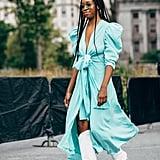 Autumn 2019 Fashion Trend: Balloon-Sleeved Dresses