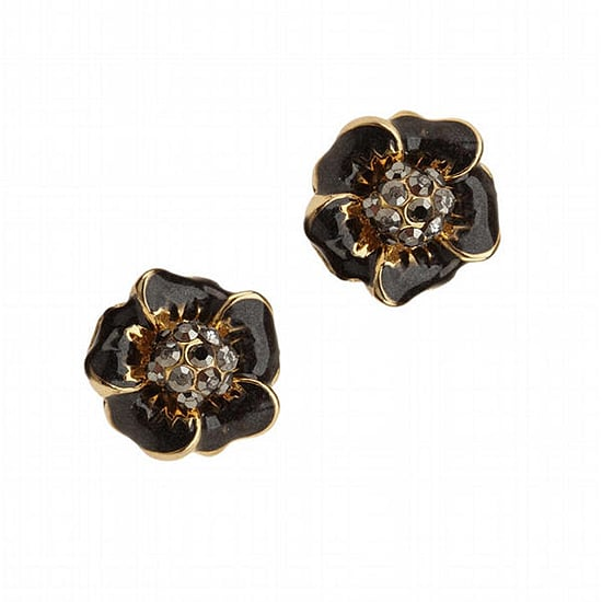 Urban Outfitters Pave and Enamel Earrings, $14