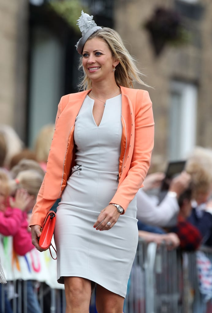 Sir Richard Branson's daughter Holly was among the guests.
