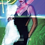 She channeled a Robert Palmer video vixen in V magazine's 2011 Transformation issue.